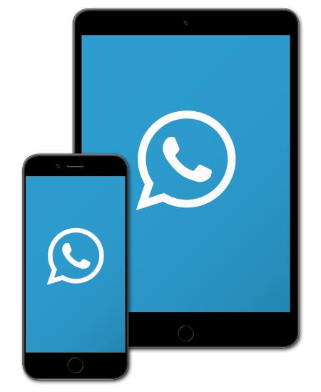 Infochannel am Phone oder Tablet: Mit dem CED WhatsApp Infochannel immer am letzten Stand der Diskussion.