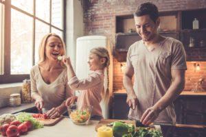 Tipps für gesunde Ernährung und Trinkverhalten.